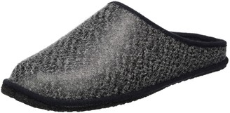 Kitz Pichler kitz-pichler Unisex Adults Leder Franzi Open Back Slippers Grey Size: 11 UK
