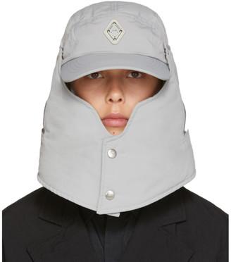 A-Cold-Wall* Grey Detachable Rhombus Storm Cap