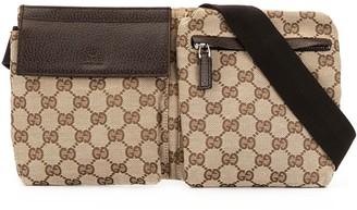 Gucci Pre Owned GG Logo belt bag