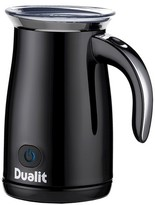 Dualit Hot/Cold Milk Frother - Piano Black Steel