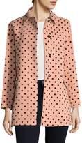 RED Valentino Women's Cappotti Dot Coat