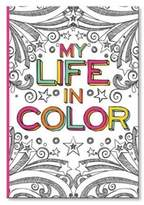 CR Gibson Life Coloring Journal