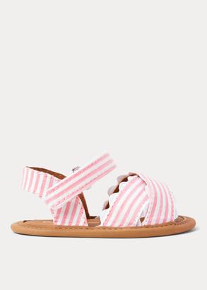Ralph Lauren Trace Striped Sandal