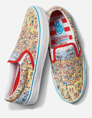 Vans x Where's Waldo? Slip-On Shoes