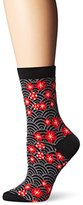 Ozone Women's Sakura Puddles Sock