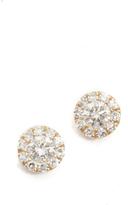 Ef Collection Mini Diamond Stud Earrings