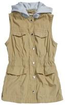 Joujou Girl's Jou Jou Hooded Vest