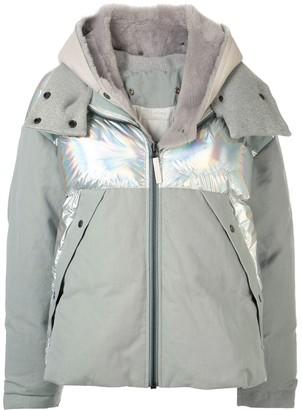 Yves Salomon Combined Puffer Jacket