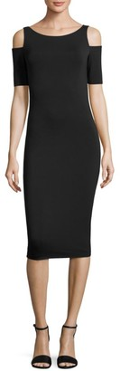 Bailey 44 Deneuve Cold-Shoulder Dress