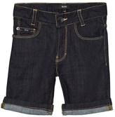 BOSS Indigo Denim Shorts
