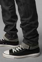 Urban Outfitters Unbranded Skinny Black Selvedge Jean