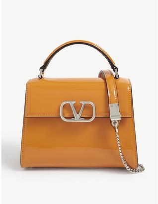 Valentino VSLING patent leather cross-body bag