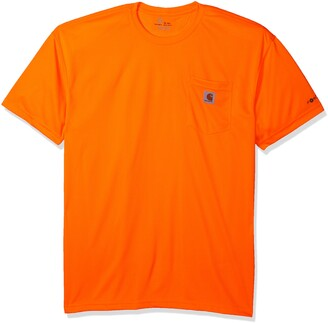 Carhartt Men's Big Hi-Visibility Force Color Enhanced Short Sleeve T-Shirt