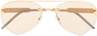So.Ya Rick aviator-frame sunglasses