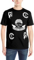 Crooks & Castles Men's Knit Crew T-Shirt Bad Mannered