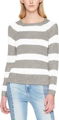 Only Women's Onltitania L/s Stripe Pullover Cc KNT Jumper