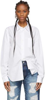 Junya Watanabe White Broad Cotton Shirt