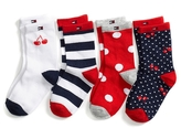 Tommy Hilfiger Infant Socks 4pk