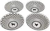 Godinger Assorted Barnyard Bowls (Set of 4)