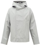 Jacquemus Manosque Bonded-cotton Hooded Jacket - Mens - Grey