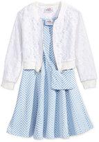 Beautees 3-Pc. Jacket, Dress & Purse Set, Toddler & Little Girls (2T-6X)