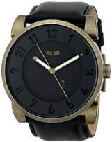 Vestal Unisex DOP013 Doppler Black Gold Patina Watch