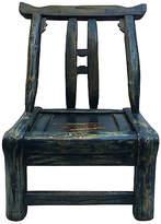 One Kings Lane Vintage Chinese Indigo Chair