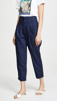 AG Jeans Yasmeen Pleated Trousers