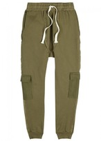 Blood Brother Britt Olive Cotton Cargo Trousers
