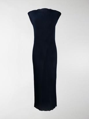 Jil Sander Ribbed Long Dress