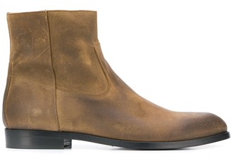 Buttero distressed ankle boots