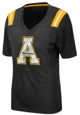 Colosseum Women's Appalachian State Mountaineers Rock Paper Scissors T-Shirt