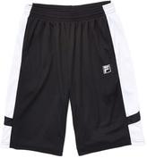Fila Black & White Core Basketball Active Shorts - Boys