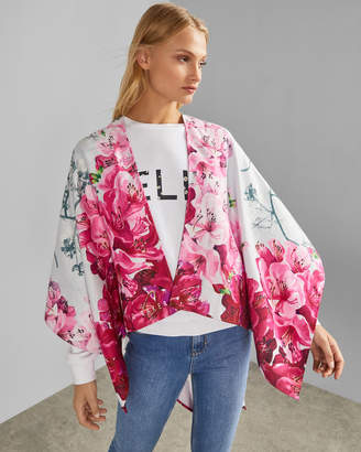 Ted Baker CASIIDY Floral woven cape