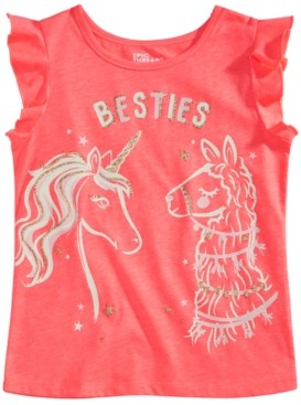 Epic Threads Toddler Girls Besties Graphic Flutter Top, Created for Macy's