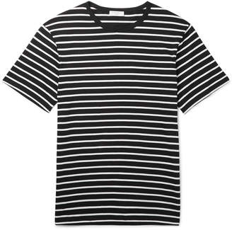 Sandro Slim-Fit Striped Cotton-Jersey T-Shirt