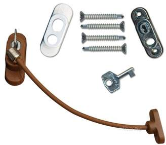 Penkid Safety Window Restrictor (Multiples Box of 5, Light Brown)