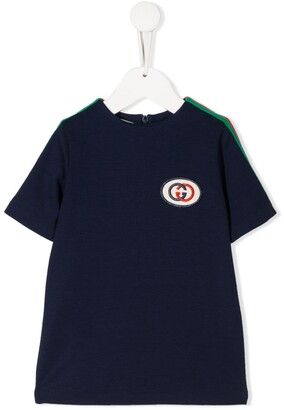Gucci Kids Interlocking G tunic top