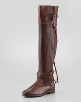 UGG Nicoletta Buckled Over-the-Knee Shearling Boot