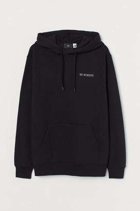 H&M Regular Fit Hoodie - Black