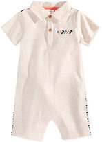 First Impressions Polo Cotton Romper, Baby Boys (0-24 months), Only at Macy's
