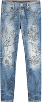 True Religion Halle Jeans with Floral Print
