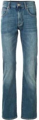 Emporio Armani Slim-Fit Mid Rise Jeans