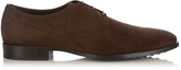 Tod's Formale lace-up suede derby shoes