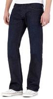 Voi Navy Raw Bootcut Jeans