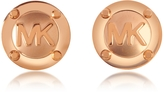 Michael Kors Heritage Logo Stud Earrings