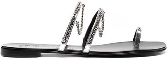 Giuseppe Zanotti Catena open-toe sandals