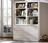 Pottery Barn Logan Bookcase with Drawers
