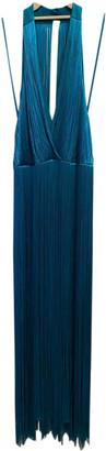 Tamara Mellon Blue Viscose Dresses