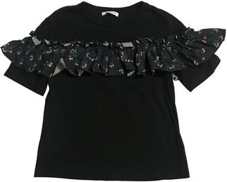 VIVETTA Black Cotton Top for Women